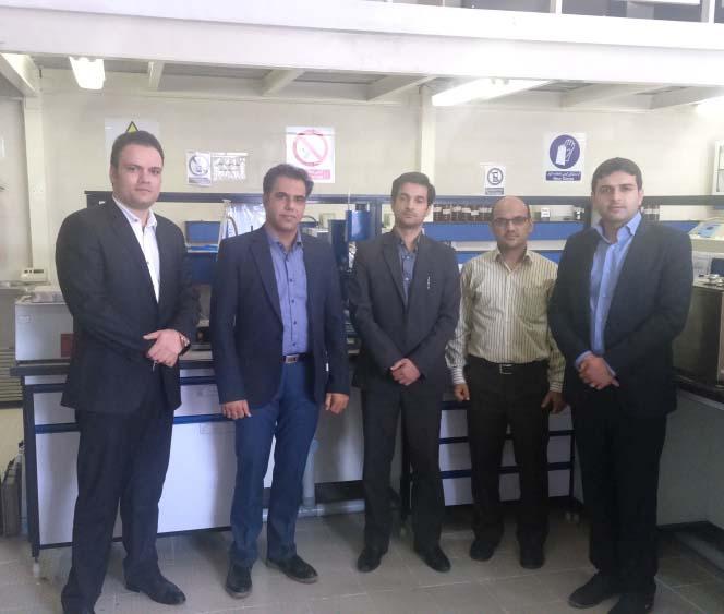 بازدید کارگروه استانداردسازی استان یزد از آزمایشگاه