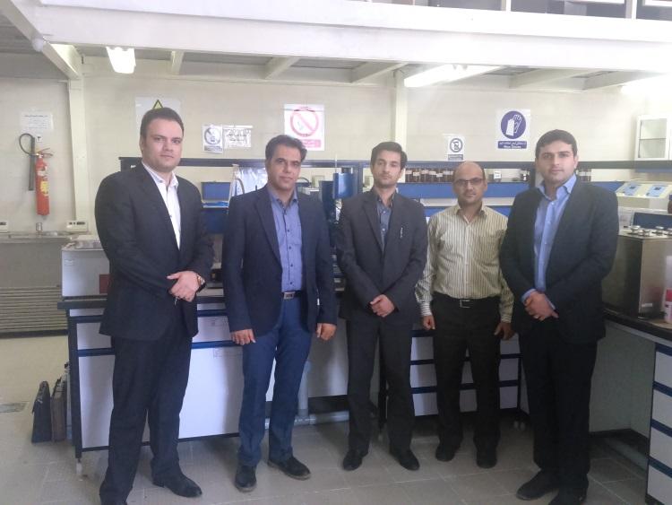 بازدید آزمایشگاه یزد